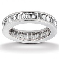 2 3/4ct tw Diamond Anniversary Ring in 14K White Gold - Diamond Rings - Jewelry & Gifts