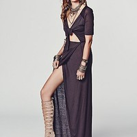 Free People Womens Tying the Knot Dress