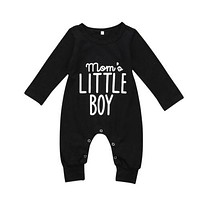 Newborn Baby Boy  Cotton Romper letter Printed  Boys Jumpsuit Outfit Clothes Baby Clothing