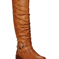 XOXO Martin Wide-Calf Riding Boots | macys.com