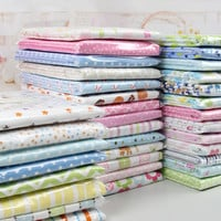 2pcs pack baby blankets Newborn Baby Bed Sheets 100%knitted Cotton Super Soft Crib Sheet Baby Bedding Set Infant Cot Sheets