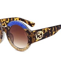 GUCCI Popular Unisex Colorful Frame Summer Sun Shades Eyeglasses Glasses Sunglasses I-8090-YJ