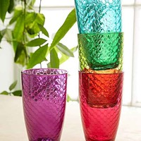 Honeycomb Colored Glass Set