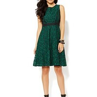 Fit  & Flare Lace Dress - New York  & Company