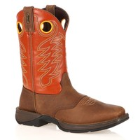 Durango Rebel Men's 11-in. Western Boots (Orange)