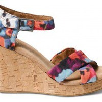 Oahu Women's Sustainable Strappy Wedges  | TOMS.com