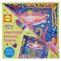 ALEX Toys Craft Bling Along Frames Mermaid
