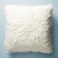 Shag Puff Floor Pillow
