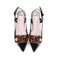 FENDI Beautiful Fashion Sandals High Heels Shoes