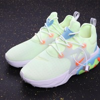 HCXX 19Aug 521 Nike React Presto Psychedelic Lava AV2605-700 Sneakers Casual Jogging Shoes