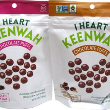 Chocolate Quinoa Puffs by I Heart Keenwah – VeganEssentials Online Store