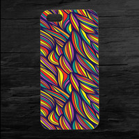 Colorful Abstract Weave iPhone 4 and 5 Case