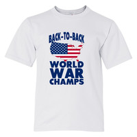 Back To Back World War Champions Youth T-shirt