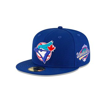 "New Era ""Toronto Blue Jays"" 1993 World Series Grey Bottom 59Fifty Fitted Hat"