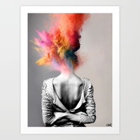 a certain kind of magic Art Print by louijoverart