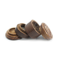Four Part Wood Grinder for Herbs - 2 Inches