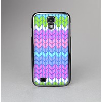 The Bright-Colored Knit Pattern Skin-Sert Case for the Samsung Galaxy S4