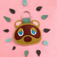 Tom Nook Animal Crossing Keychain