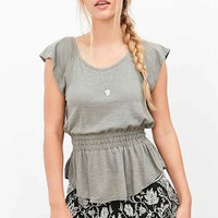 Truly Madly Deeply Laura Peplum Tee