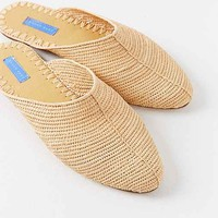 Proud Mary Raffia Slide