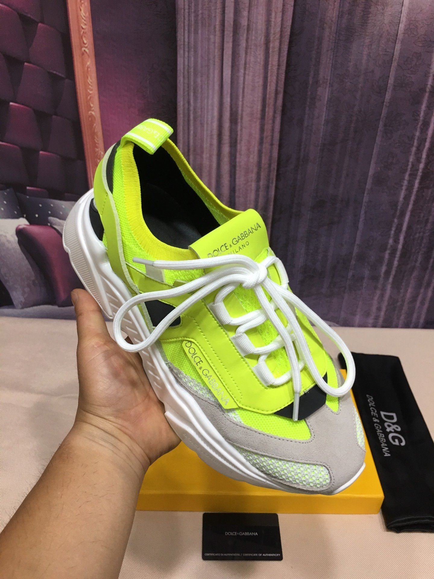 Image of D&G Fashion Men Women's Casual Running Sport Shoes Sneakers Slipper Sandals High Heels Shoes