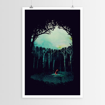 Róbert Farkas  Deep in the Forest POSTER