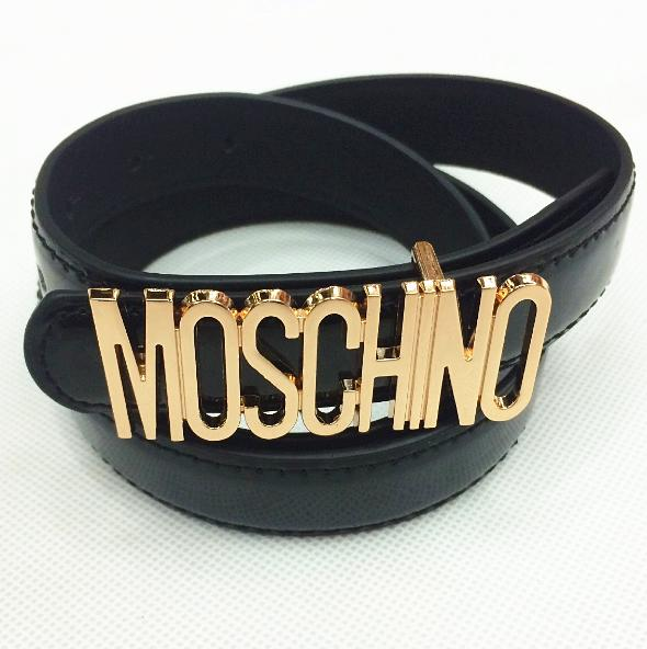 Image of MOSCHINO letters Belt fashion wild candy candy belt