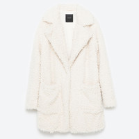 SOFT FAUX FUR COAT - View all-OUTERWEAR-WOMAN | ZARA United Kingdom