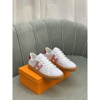 HERMES 2021 Men Fashion Boots fashionable Casual leather Breathable Sneakers Running Shoes08200em