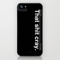Ball So Hard (Black) iPhone & iPod Case by Electric Avenue