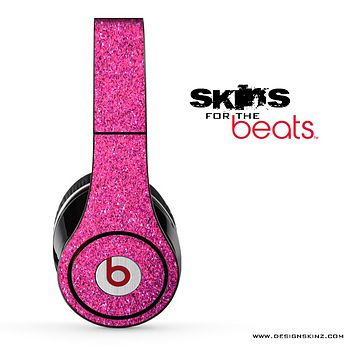 Pink Glitter Ultra Metallic Skin for the Beats by Dre
