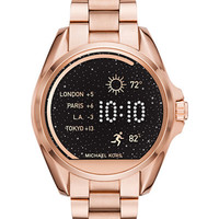 Michael Kors Access Unisex Digital Bradshaw Rose Gold-Tone Stainless Steel Bracelet Smart Watch 45mm MKT5004 - Watches - Jewelry & Watches - Macy's