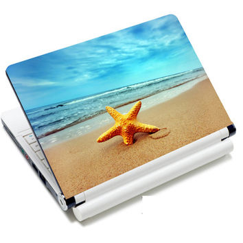 """Starfish Art Anti-Slip Laptop Sticker Skin Decal Cover Protector For 11.6"""" -15.4"""" Sony Toshiba HP Dell Acer Thinkpad"""