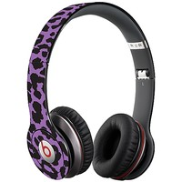 Purple Leopard Skin  for the Beats Solo HD by skinzy.com