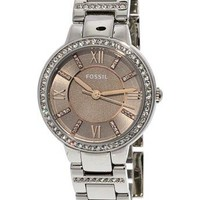 Fossil Womens ES4147 Virginia Taupe Dial Watch
