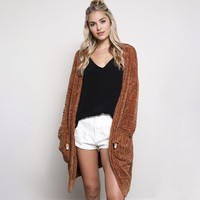 textured knit shawl cardigan - gucci