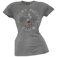 Mickey Mouse - Mickey Mouse Club Juniors T-Shirt