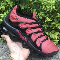 Nike Air Max Vapormax Plus Men Casual Air Cushion Sport Running Shoes Sneakers Red&Black