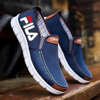 Canvas shoes casual Korean version of the shoes sports shoes breathable shoes