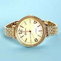 Sprig of Time Gold Watch