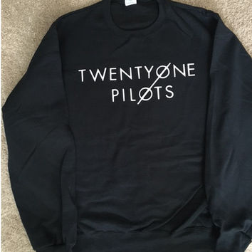 Twenty One Pilots Sweatshirt #2-Different Colors Available Youth and Adult Sizes