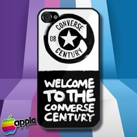 Converse ALL STAR Welcome to The Converse Logo iPhone 4 or iPhone 4S Case