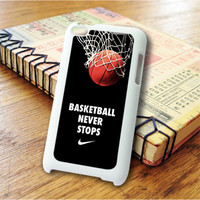 Nike Basketball Never Stop Art iPod Touch 4 Case