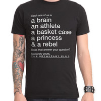 The Breakfast Club Sincerely Yours Slim-Fit T-Shirt
