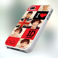 One Direction Lover PB0133 Design For IPhone 4 or 4S Case / Cover