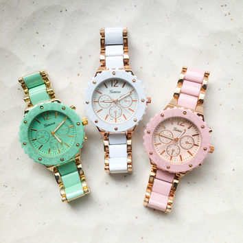 Cute Design Metal Watches #W85