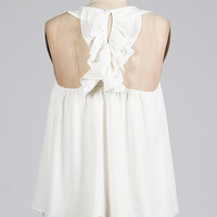 Say You Do Top - Ivory