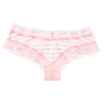 Lace-waist Cheeky Panty - Cotton Lingerie - Victoria's Secret