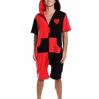 Uni ZOOOPY Fleece Black and Red Heart : ZOOOP iT UP