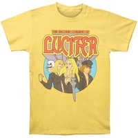 Lucifer Men's  Machado Tee T-shirt Yellow